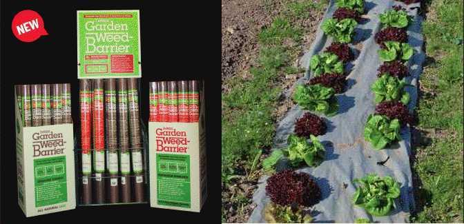 3u0027 X 80u0027 Natural Garden Weed Barrier